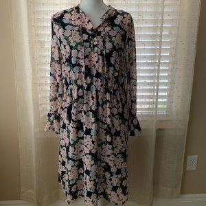 J Crew Mercantile Floral dress medium
